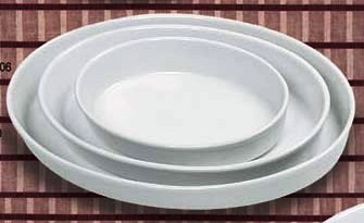 Deep Oval Plate 6