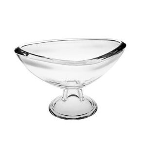 "Anchor Hocking 90099 6-3/4"" Eclipse Footed Bowl"