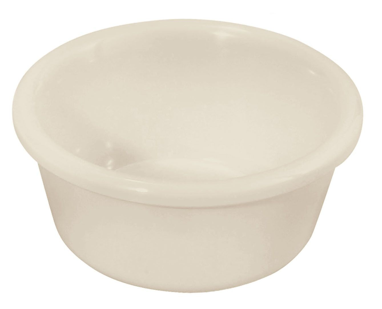 6 oz. Plain Plastic Ramekin (Bone)