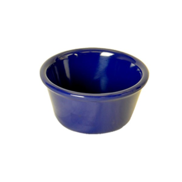 Thunder Group ml539cb Plain Blue 6 oz. Plastic Ramekin
