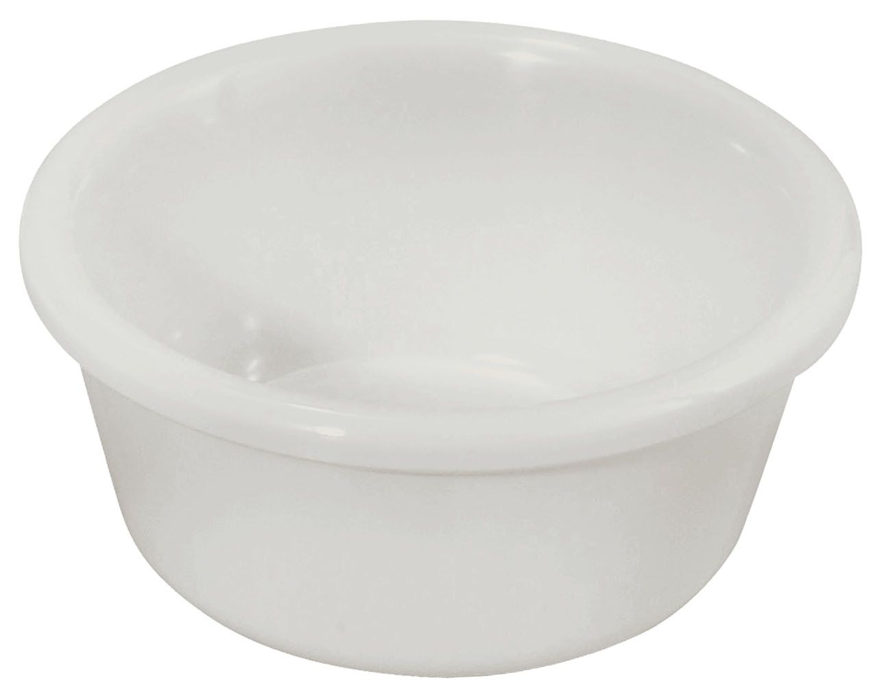 6 oz. Plain Plastic Ramekin (White)