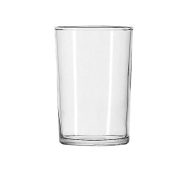 Anchor Hocking 7511U Straight-Sided Shell 6 oz. Seltzer Glass