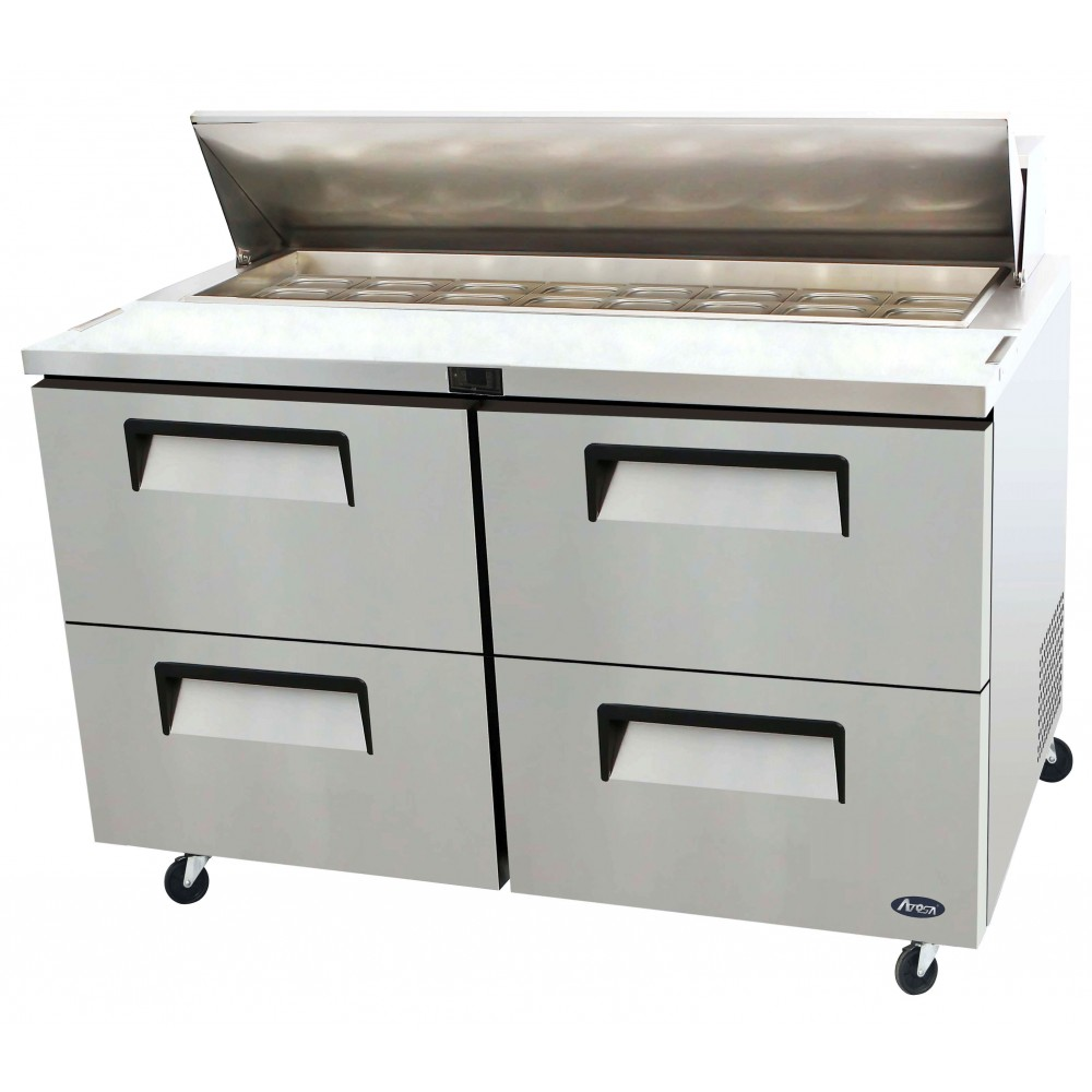 60'' Two-Drawer Sandwich Prep. Table