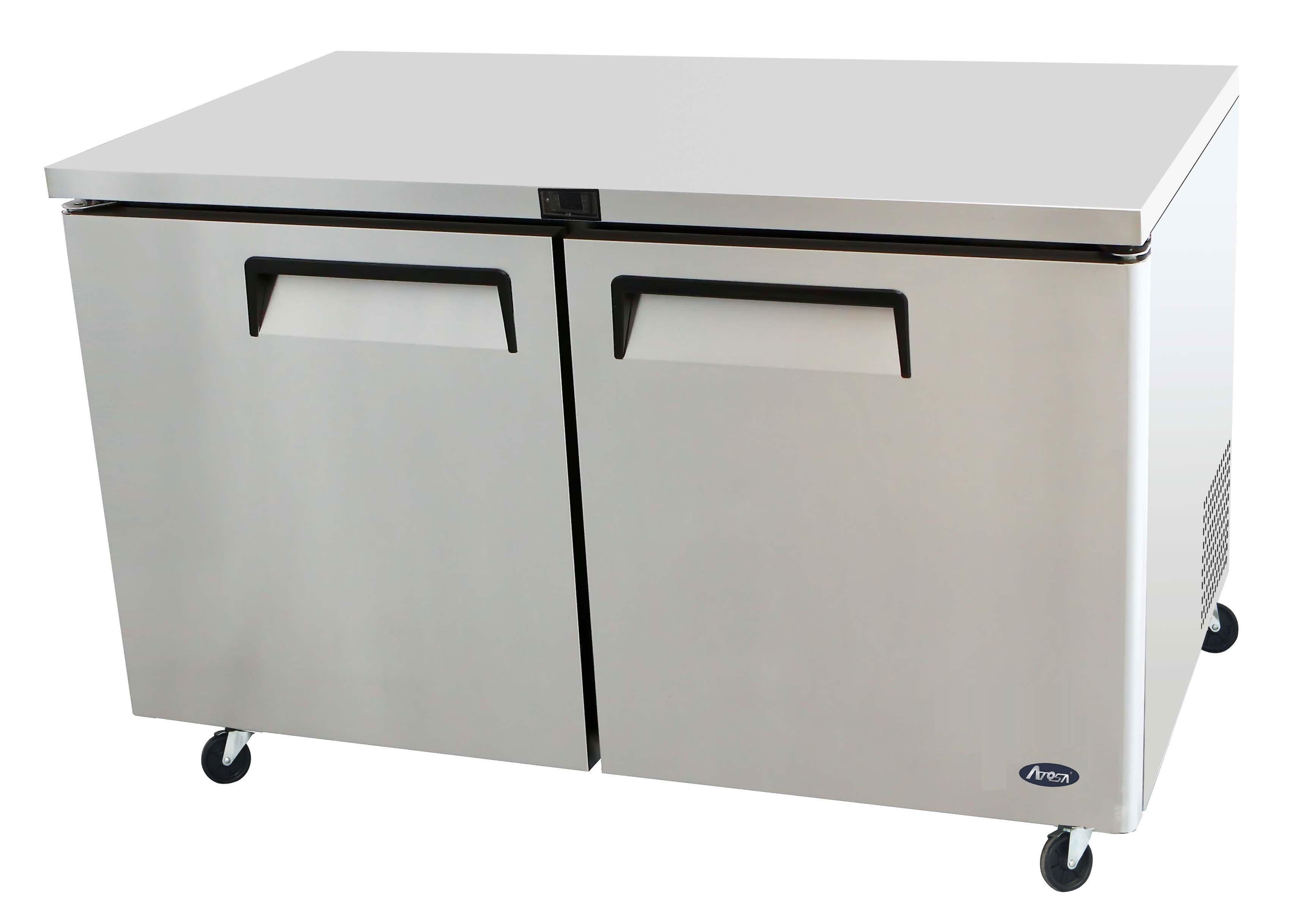 60'' Undercounter-Freezer Dimensions
