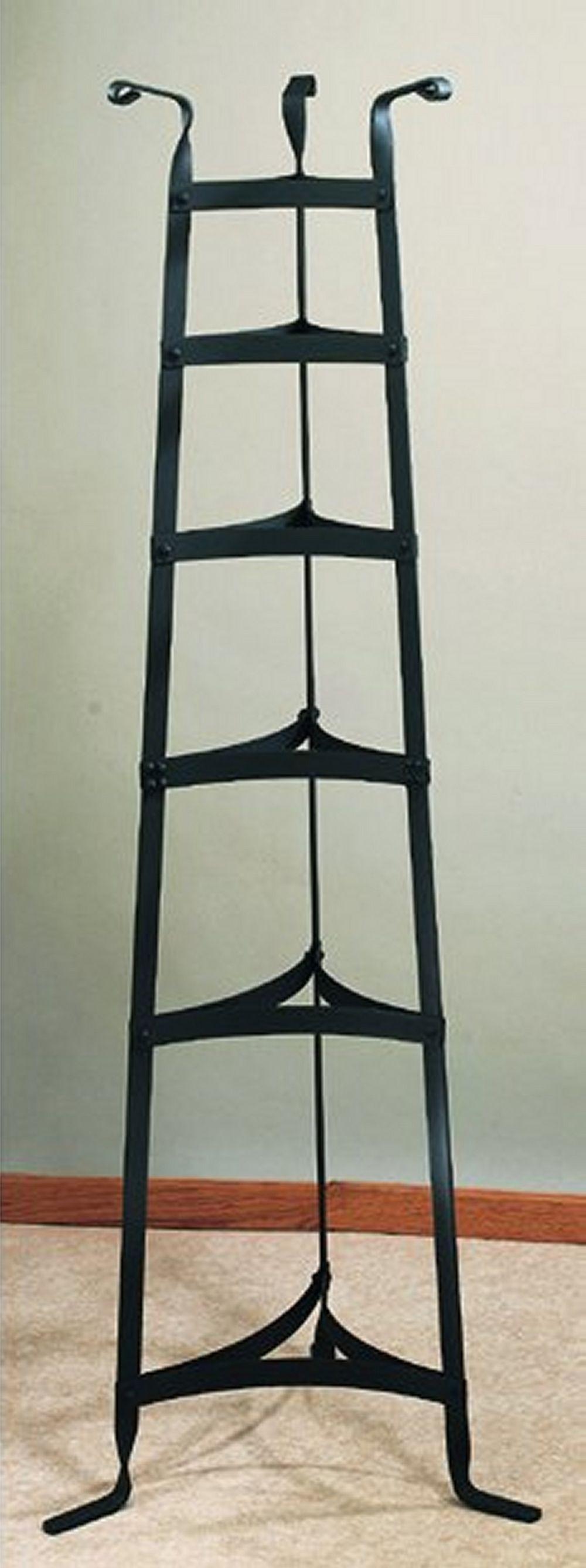 "Old Dutch International 106GU 60 1/2"" Six Shelf Graphite Cookware Stand"