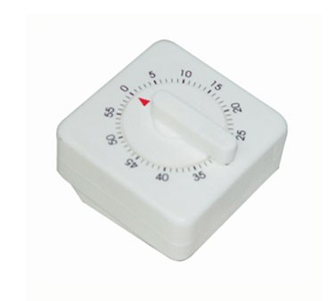 Thunder Group TIM-60 60 Minute Mechanical Timer, Long Ring