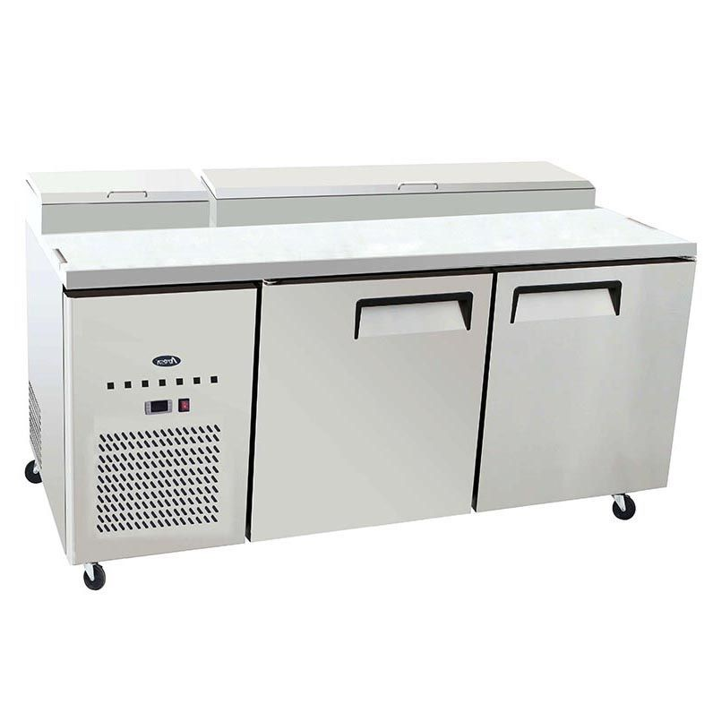 "Atosa MPF8202GR 67"" Pizza Prep Table"