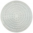 "Winco APZP-7SP 7"" Aluminum Super-Perforated Pizza Disk"