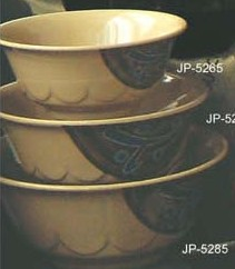 "Yanco JP-5275 Japanese 7"" Curved Noodle Bowl"