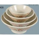"Yanco OR-5707 Gold Orchis 7"" Soup Bowl"