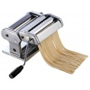 "Winco NPM-7 7"" Stainless Steel Pasta Maker with Detachable Cutter"