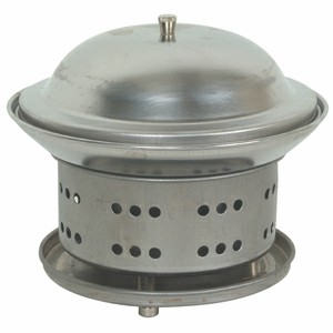 Thunder Group SLFM001 Stainless Steel Wok Chafer 7-1/4""