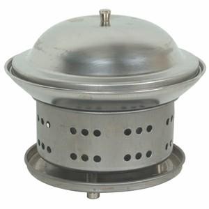 """Thunder Group SLFM001 Stainless Steel Wok Chafer 7-1/4"""""""