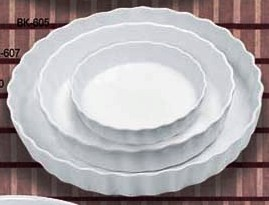 "Yanco BK-607 Accessories 7-1/2"" Quiche Dish 18 oz."