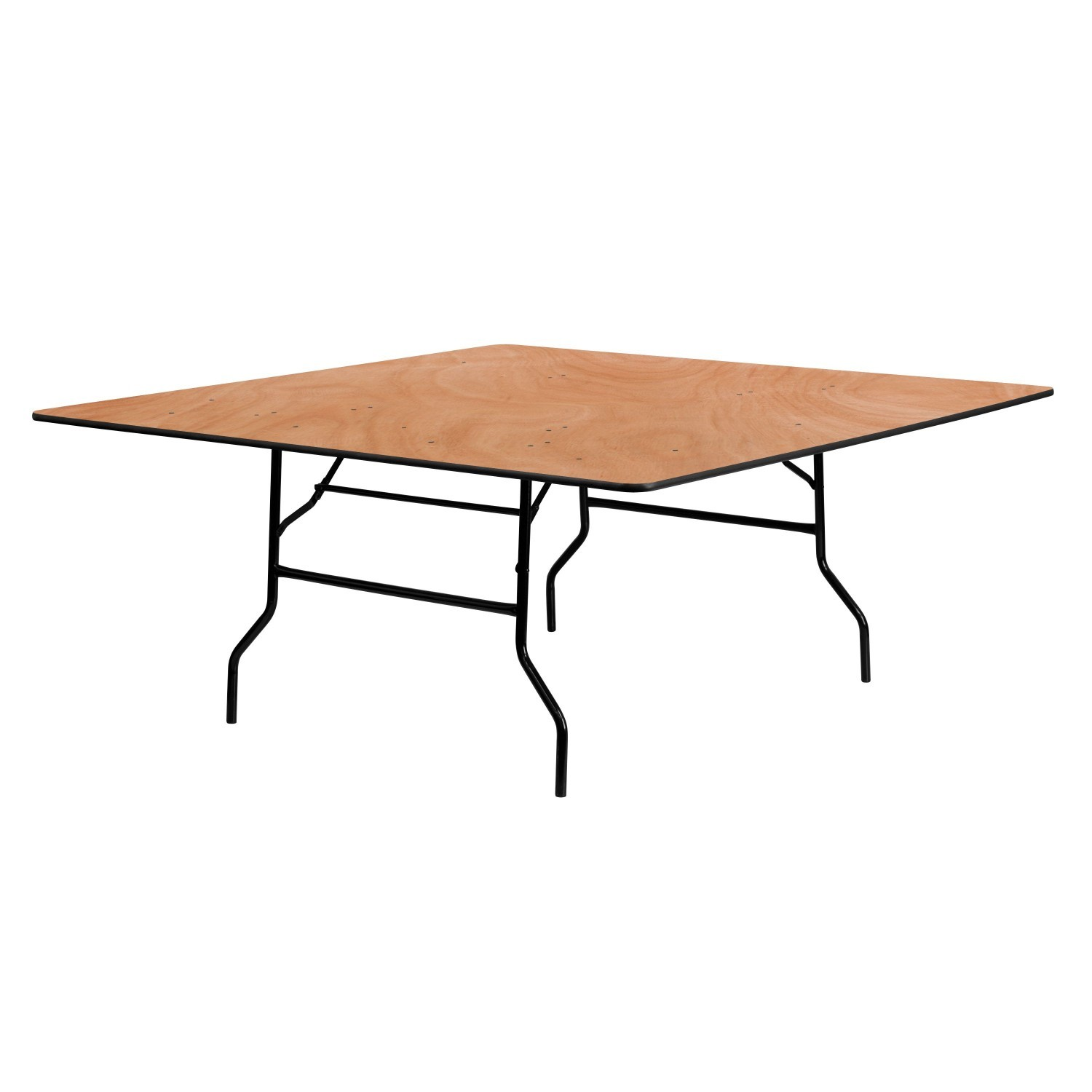 Flash Furniture YT-WFFT72-SQ-GG 72'' Square Wood Folding Banquet Table