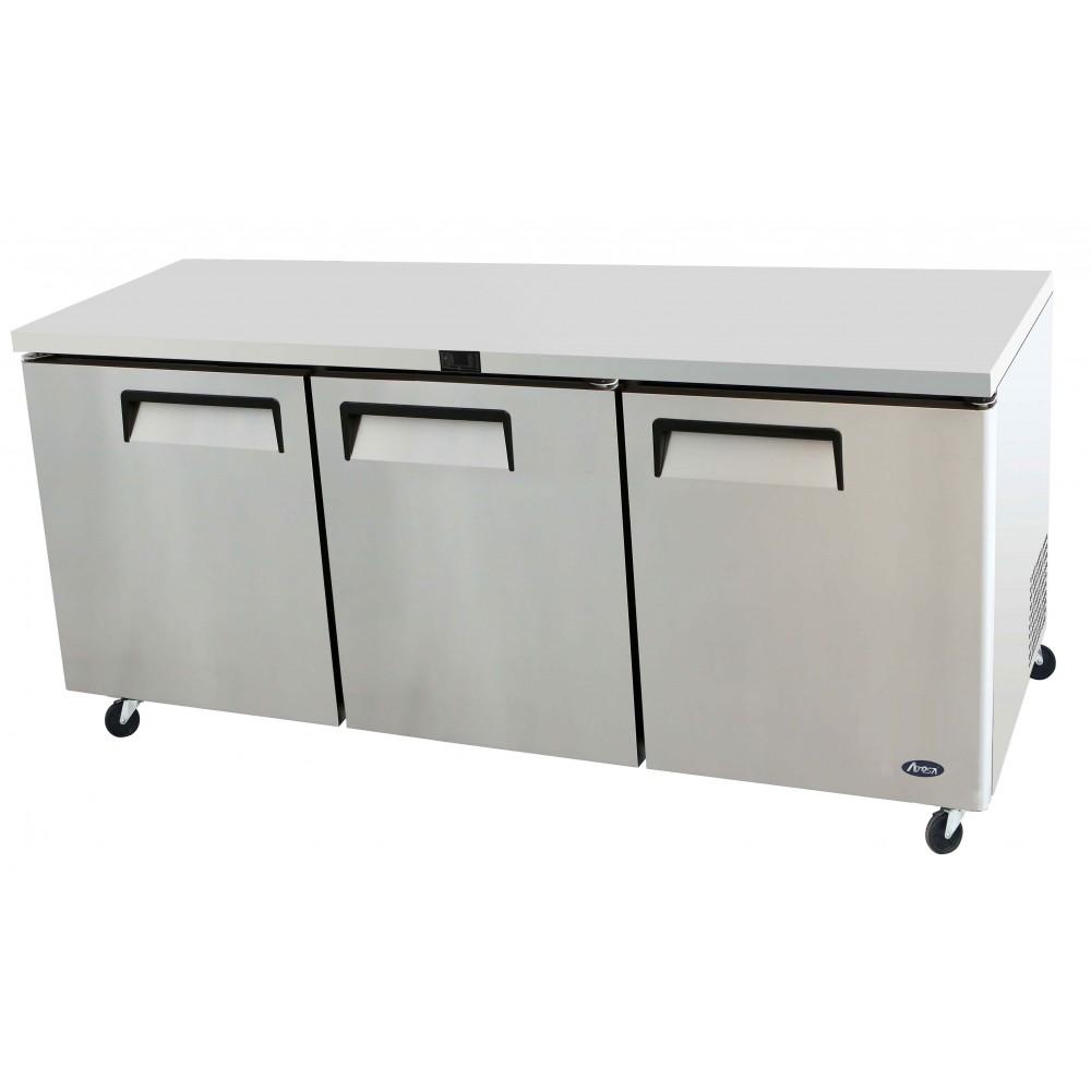 Atosa MGF8404 72'' Undercounter Refrigerator