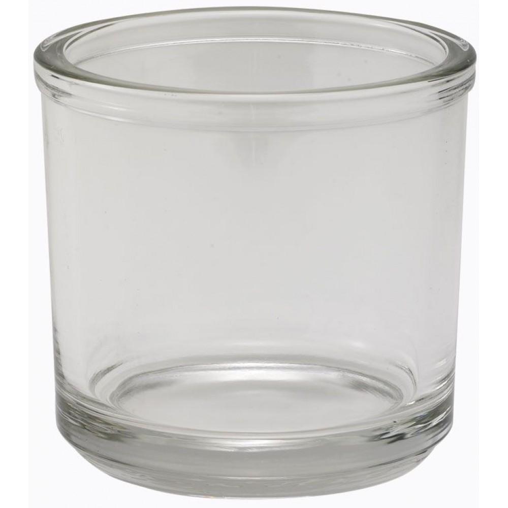 Winco CJ-7G Glass 7 oz. Condiment Jar