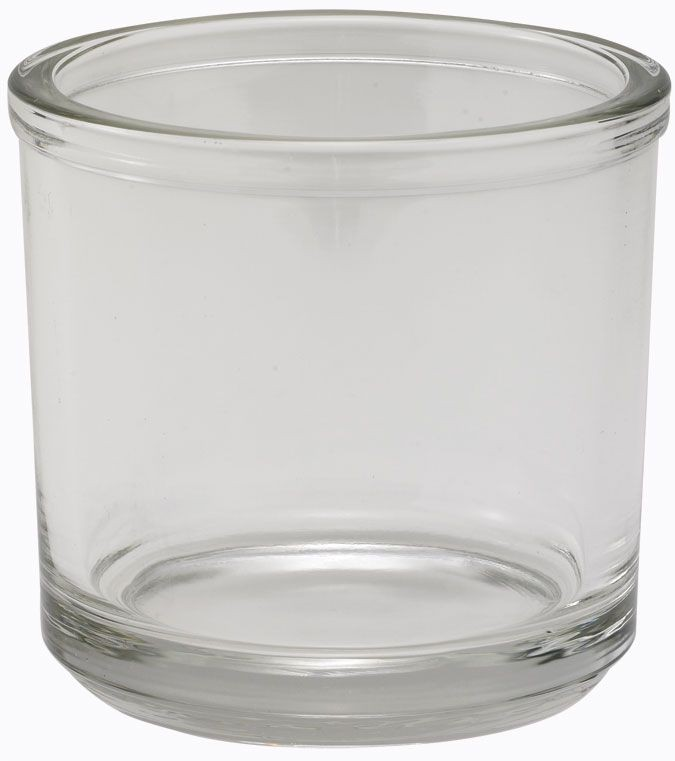 Winco CJ-7G Glass 7 oz. Condiment Jar