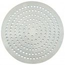 "Winco APZP-8SP 8"" Aluminum Super-Perforated Pizza Disk"