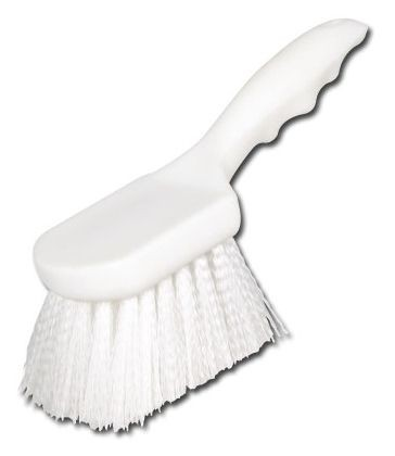 "Winco BRN-8P Plastic Brush with Nylon Bristles 8"""