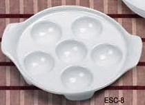 Yanco ESC-8 Accessories Escargot Dish 8-1/2""