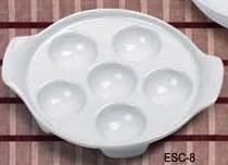 Escargot Dish 8-1/2