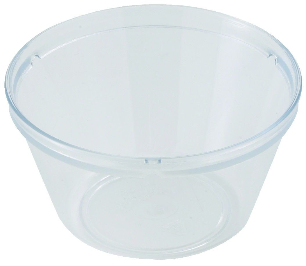 Winco pfd-8 Clear Polycarbonate  8.4 oz.  Fruit Bowl