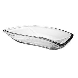 "Anchor Hocking 90095 8-3/4"" Rectangular Eclipse Dish"