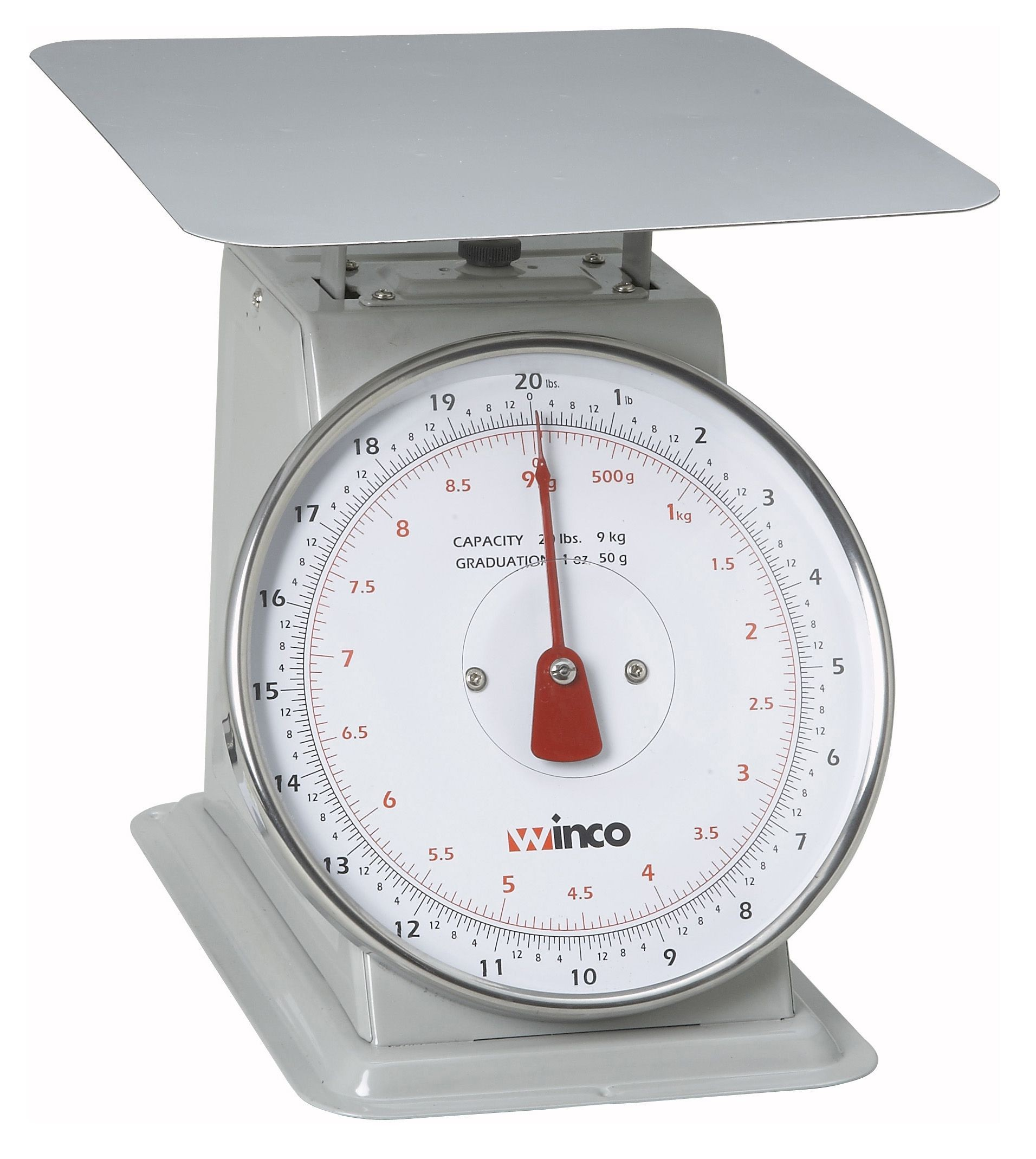 Winco SCAL-820 Receiving Scale 20 Lb.