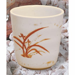Thunder Group 9753GD Gold Orchid Melamine Mug 8 oz.