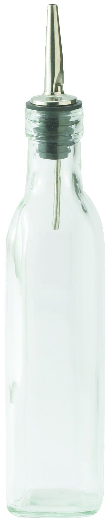 8 Oz. Oil/Vinegar Cruet With Pourer