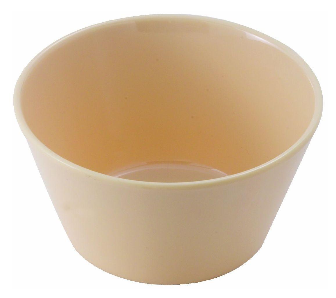 Winco MMB-8 Tan Melamine Bouillon Cup, 8 oz.