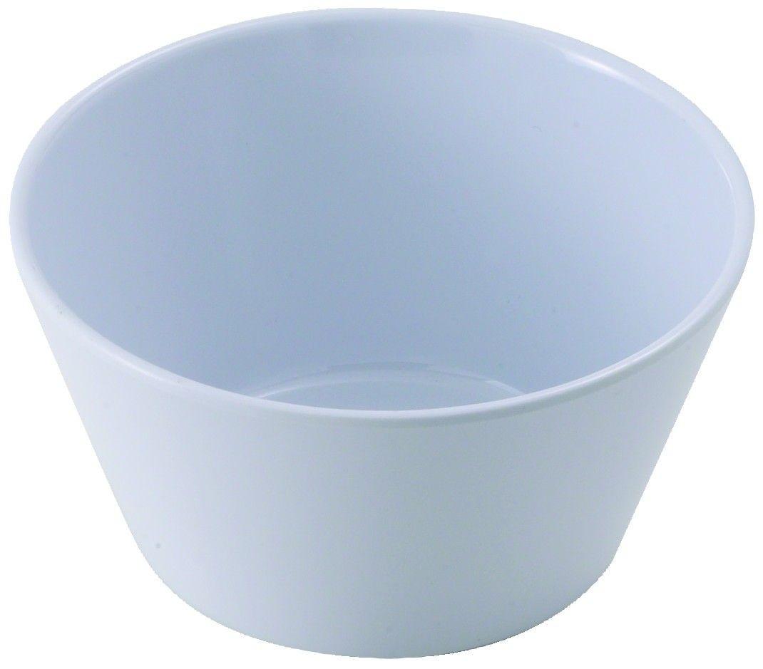 Winco MMB-8W White Melamine Bouillon Cup 8 oz.