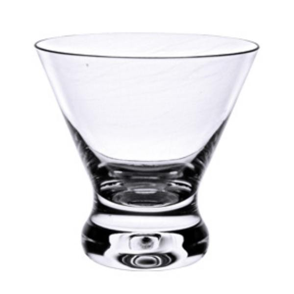 8 Oz Cocktail Glass, Heavy Base, Polycarbonate, Clear
