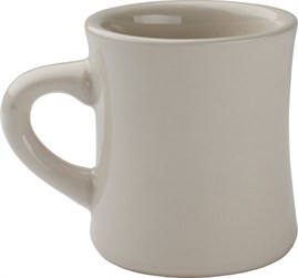 8 Oz Hartford Mug - American White China