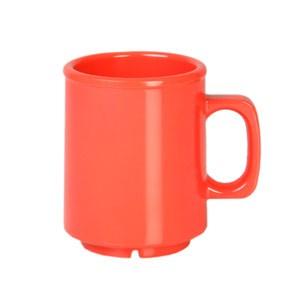 Thunder Group CR9010RD Orange Melamine Mug 8 oz.