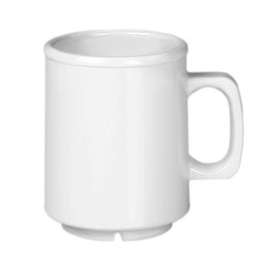 Thunder Group CR9010W White Melamine Mug 8 oz.