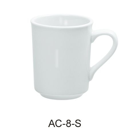 "Yanco AC-8-S Abco 8 oz. Sierra Mug 3 3/8"""