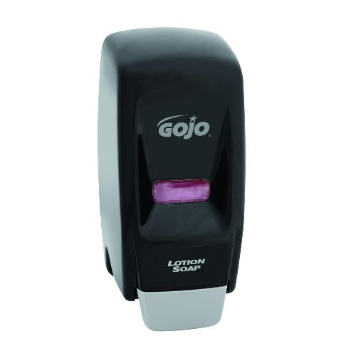 800 Series Hand Soap Dispenser, 4.5 X 4.13 X 11, Wall Mount, Black