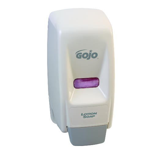 800 Series Hand Soap Dispenser, 4.5 X 4.13 X 11, Wall Mount, White