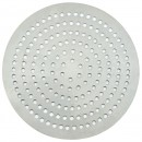"Winco APZP-9SP 9"" Aluminum Super-Perforated Pizza Disk"