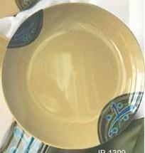 "Yanco JP-1309 Japanese Wide Rim 9"" Round Plate"