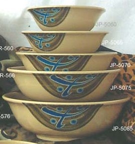 "Yanco JP-5075 Japanese 9"" Soup Bowl"