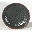 Thunder Group 1809TM Tenmoku Lotus Shape Melamine Plate 9-3/8""