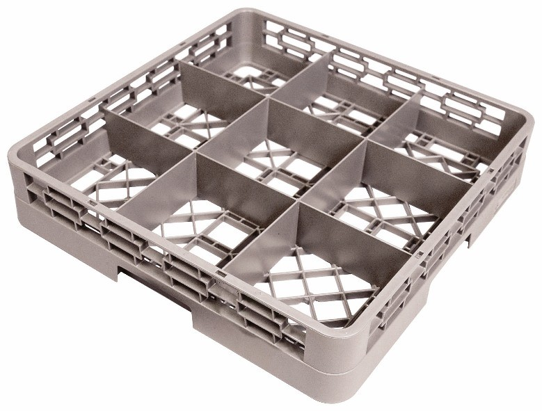 Crestware RBC9 9-Compartment Glass Rack Base