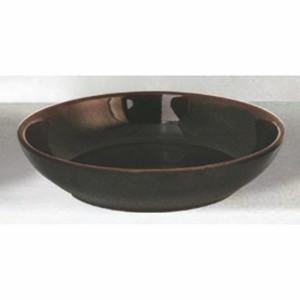 Tenmoku Melamine Flat Bowl, 9 Oz, 5-1/2