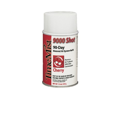9000 Shot Metered Air Freshener Refills, 7.5 Oz, Aerosol Cherry