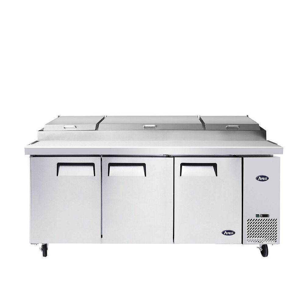 "Atosa MPF8203GR 93"" Pizza Prep Table"