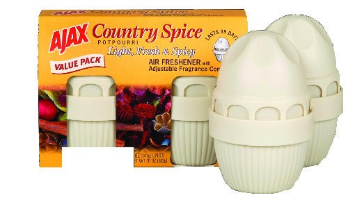 AJAX Air Freshner, Country Spice, 5 Oz
