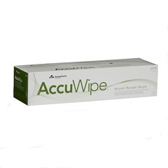 AccuWipe Recycled Three-Ply Delicate Task Wipers, 15 x 16 7/10, White, 70/Box